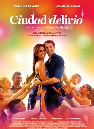 Poster oficial de Ciudad delirio en España (Foto: Prensa-Black Velvet)
