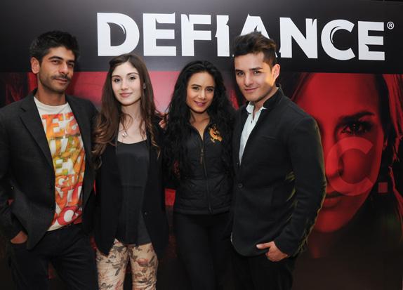 Daniel Abril, Daniela Santos, Johana Fadul y Juan Sebastian Quintero.