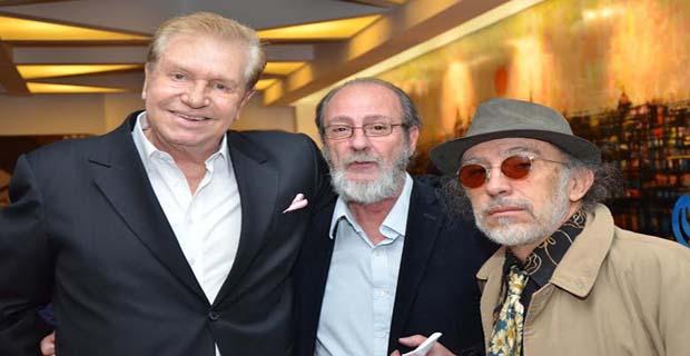 Julio César Luna, Norberto García y y Fabio Rosso