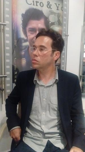 """Miguel Salazar, director de """"Ciro & Yo"""" (Fotos: VBM)"""